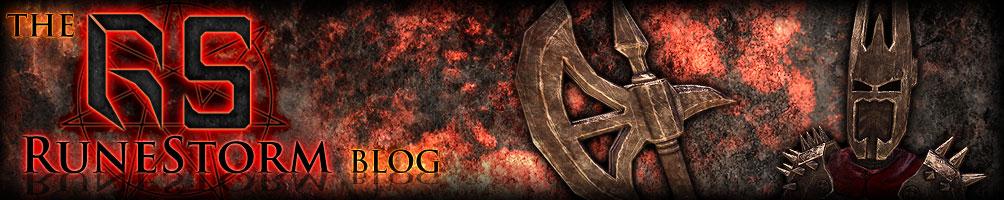 RuneStorm homepage