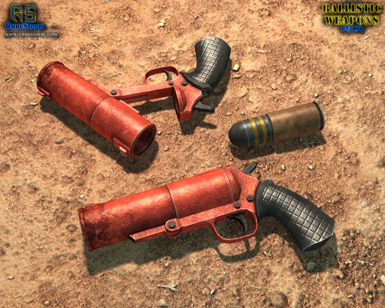BORT 85 Grenade Pistol